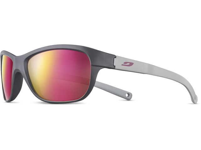 Julbo Player L Spectron 3CF Solbriller 6-10Y Børn, matt grey/matt light grey/multilayer rosa